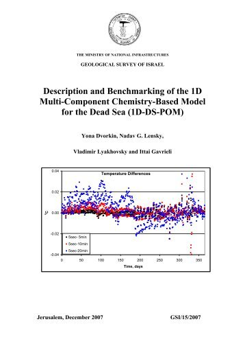 Description and Benchmarking of the 1D Multi-Component ...