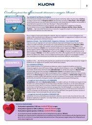 Combinazioni tra affascinanti itinerari e magici Resort