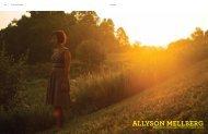 Allyson Mellberg - Galerie LJ