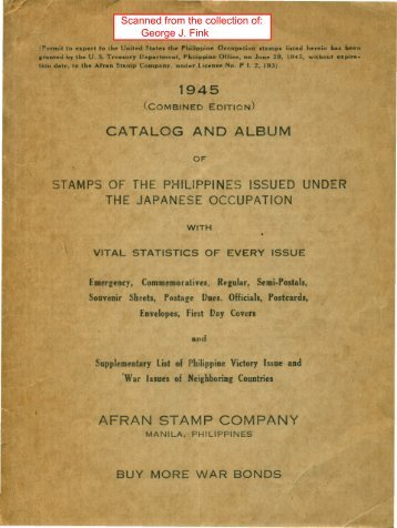 AFRAN STAMP COMPANY - International Philippine Philatelic Society