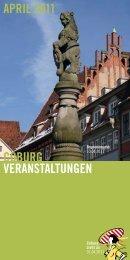 coburg veranstaltungen april 2011 - Stadt Coburg