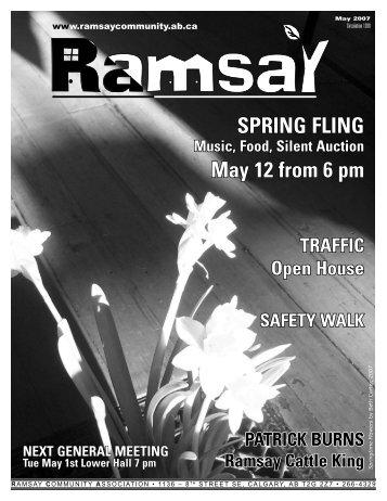 May 2007 - Ramsay Community Association in Calgary