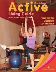 Fall Active Living Guide - Century House