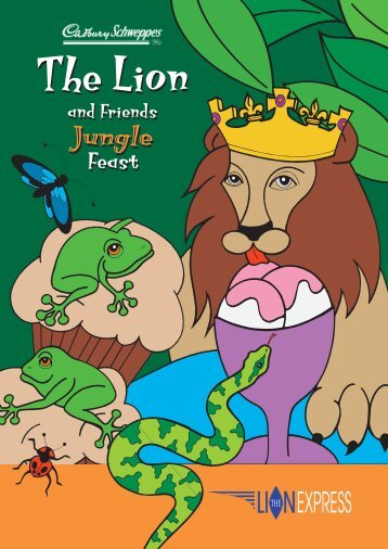Download 'The Lion and Friends Jungle Feast' - The Lion Hotel