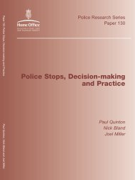 Police Stops, Decision-making and Practice - West Midlands Police ...