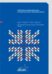 ALIAS project final booklet - Alpine Space Programme