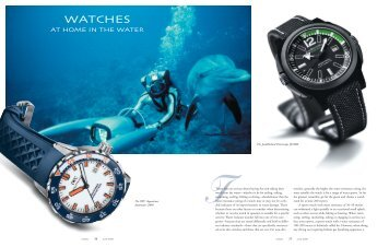 Watches at Home in the Water - Keith Strandberg
