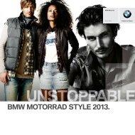 Style Katalog 2013 (PDF, 5,1 MB) - BMW Motorrad International