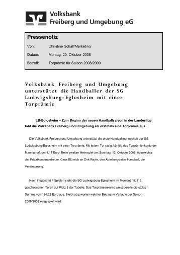 Aktuelles Fax - bei der SG Ludwigsburg/Eglosheim