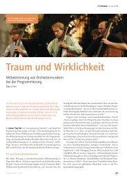 Sample Das Orchester 2008/12 - Schott Music