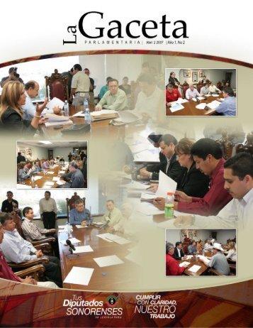 Formato para Gaceta edit - H. Congreso del Estado de Sonora