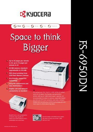 FS-6950DN - The Copier Shop