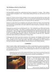 Wickedness of the Pre-flood World - Noah's Ark & Early Man Seminars