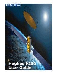 Hughes 9250 BGAN Terminal User's Guide 1.1 - GMPCS Personal ...