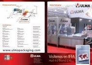 Contáctenos: Dónde encontrarnos - ULMA Packaging