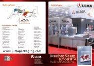 Besuchen Sie uns auf der IFFA - ULMA Packaging