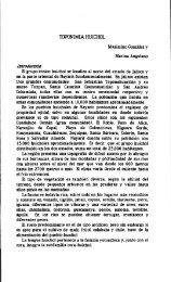 TOPONIMIA HUICHOL Introducción
