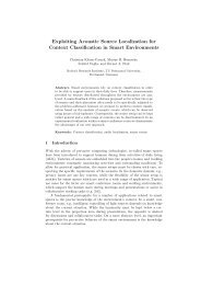 Exploiting Acoustic Source Localization for Context Classification in ...