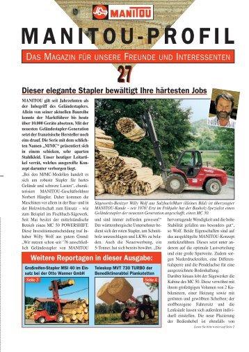MANITOU-PROFIL - Eichinger & Partner