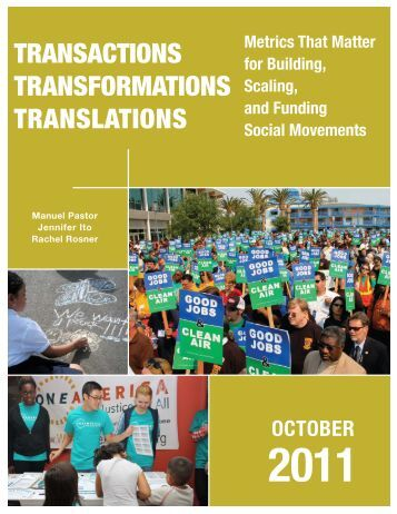 Transactions – Transformations – Translations - USC Dana and ...