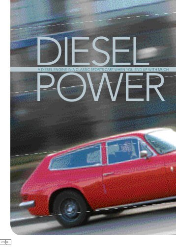 Diesel Po A Diesel Engine In A ClAssic - Diesel Tuning and ...