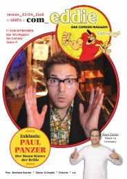 PAUL PANZER - Wir sind Comedy - Comedy kompakt!