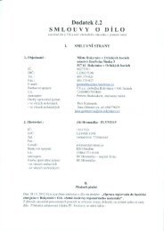 Dodatek č. 2 Smlouvy o dílo - Rokytnice v Orlických horách