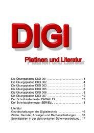 IED Kammerer Gmbh Die Übungsplatine DIGI 001 - Epv-Verlag