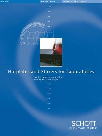 Hotplates and Stirrers for Laboratories - Windaus
