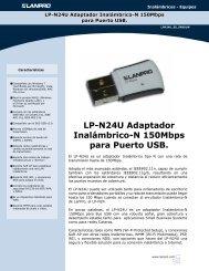 LP-N24U Adaptador Inalámbrico-N 150Mbps para Puerto ... - LanPro
