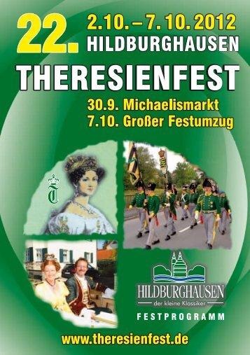 4*& 4*$) +&5;5 *)3 - Theresienfest Hildburghausen
