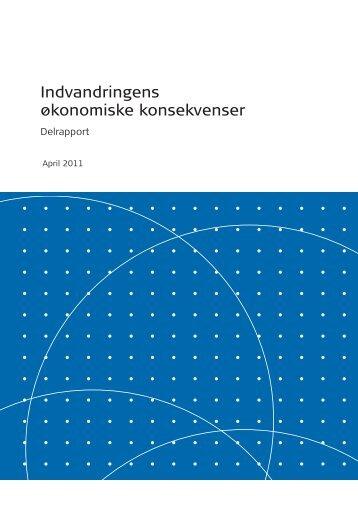 Delrapport - Indvandringens økonomiske konsekvenser - Social