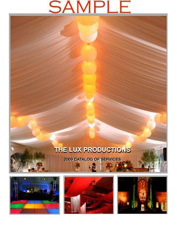 Sample Lux Catalog - The Lux Productions