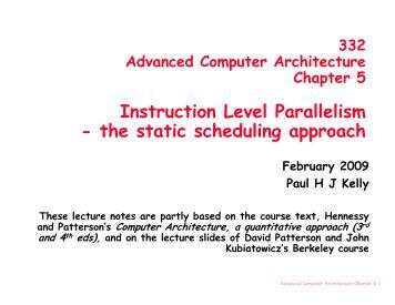 Level instruction parallelism pdf