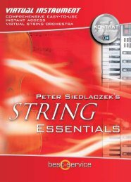 String Essentials software