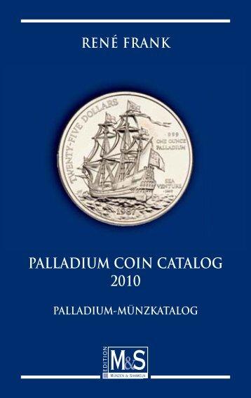 PALLADIUM COIN CATALOG 2010