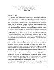 panduan kompetisi penelitian latihan mahasiswa fakultas ilmu ...