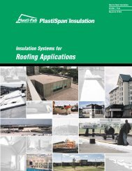 Insulation Systems for Roofing Applications - Plasti-Fab