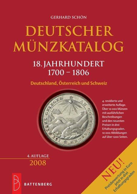 Deutscher Münzkatalog 18. Jahrhundert - Numis-Post