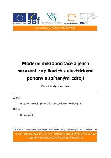 BLDC motor - konstrukce - Centrum pro rozvoj výzkumu pokročilých ...