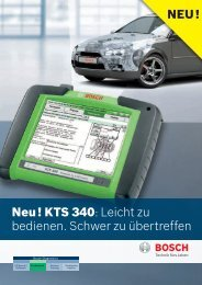 KTS 340 - Bosch - Werkstattportal