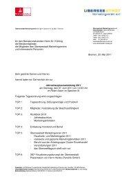 Jahreshauptversammlung - Überseestadt Bremen