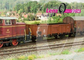 Güterwagen Lenz Spur 0 - Memoba