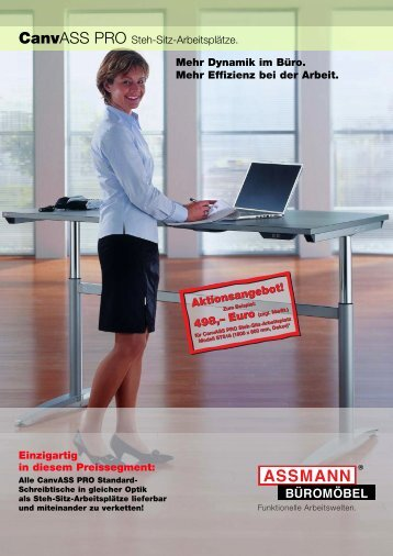 REISS ERGO Mehr Dynamik im Büro - REISS Büromöbel GmbH