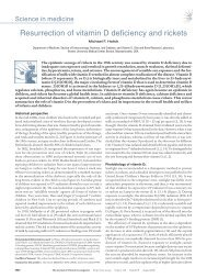 Resurrection of vitamin D deficiency and rickets - Journal of Clinical ...