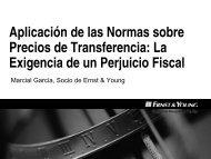 Aplicación de las Normas sobre Precios de Transferencia ... - Ipdt.org