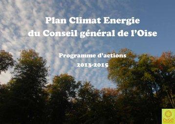 Le Plan Climat Énergie de l'Oise (pdf - 1Mo) - Conseil général de l ...