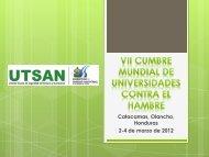 UTSAN - Universidad Nacional de Agricultura