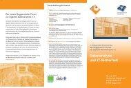 Datenanalyse und IT-Sicherheit - Deggendorfer Forum zur digitalen ...