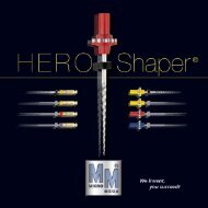 We invent HERO Shaper®. You succeed your root ... - Micro Mega